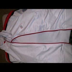 Sweaters - White Zip up sweater